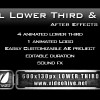 Metal Lower Third & Logo AE Project PACK