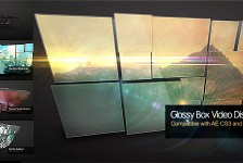 Glossy Box Video Display