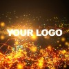 Logo Strings & Particles Animation
