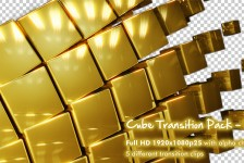 Cube Transition Pack - Gold