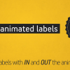 Animated Labels Pack