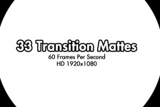 33 HD Transition Mattes 60fps