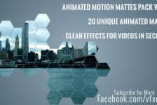 Clean Animated Motion Mattes Pack 3
