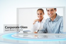 Corporate Glass Display