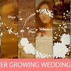 Flower Growing Wedding Title
