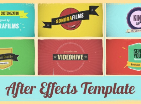 Projects for After Effects | Motion Graphics | Stock Footage