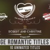 Vintage Romantic Titles Pack