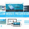 Clean Website Presentation 2 in 1