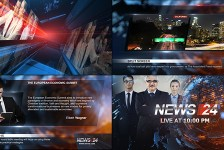 Broadcast Design - News 24 Package