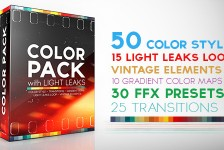 Color Pack with Light Leaks