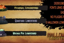 Halloween Lower Thirds
