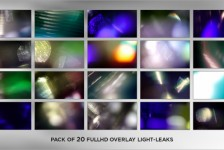 Real Elegance Light Leaks (20-Pack)