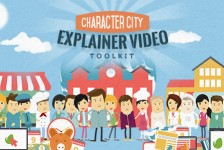 Mega Explainer toolkit : Character city