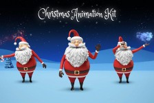 Santa - Christmas Animation DIY Kit