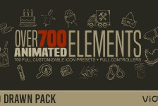 Hand Drawn Elements Pack