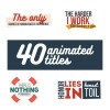 40 Animated Titles