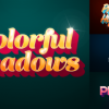 Colorful Shadows - Motion Titles Pack
