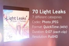 Light Leaks & Bokehs Package