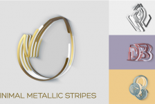 Minimal Metallic Stripes Reveals
