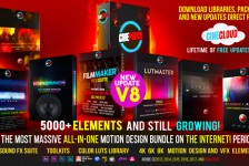 5000+ Elements CINEPUNCH Video Creator MEGA Bundle