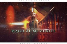 Particles Slideshow Magical Memories