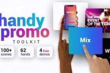 Handy Promo Kit | Touch Stomp Typography & Slideshow Toolkit