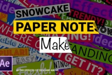 Paper Notes Maker - Titles and Lower Thirds