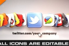 Media & Social Networks Icons