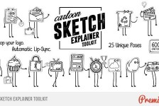 Cartoon Sketch Explainer Toolkit