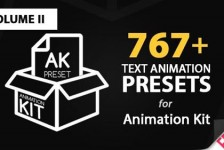 Text Preset Volume II for Animation Kit