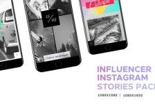 Influencer // Social Media - Instagram Stories Pack