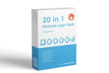 20 in 1 Minimal Logo Pack (vol.2)
