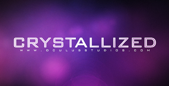 Crystallized CS4 Logo Reveal