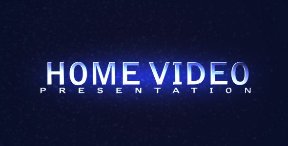 HOME VIDEO Presentation