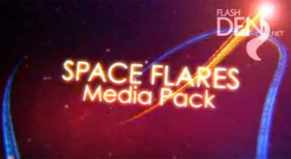 Space Flares Media Pack