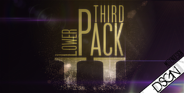 Lower Third Pack Vol.2 FullHD