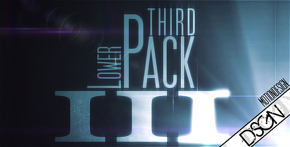 Lower Third Pack Vol.3 FullHD