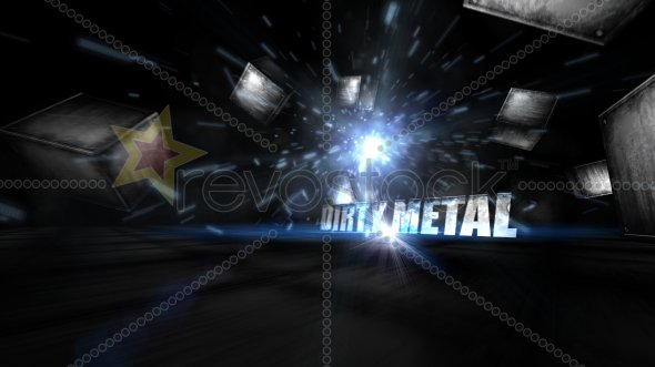 Dirty Metal Text