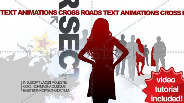 CrossRoads Text Animations
