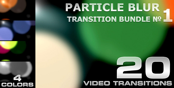 Particle Blur Transition - 1