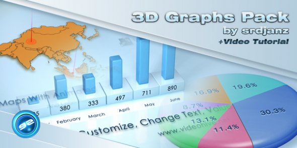 3D Graphs Pack