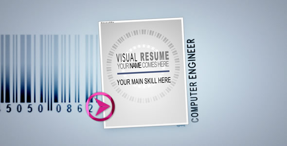 Visual Resume Alpha - Animated Curriculum