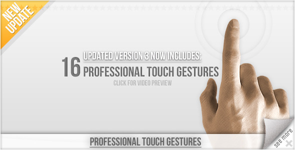 Professional Touch Gestures