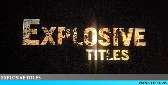 Explosive Titles Trailer HD