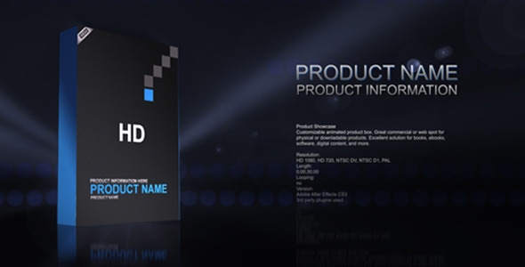 Products Showcase Templates Pack