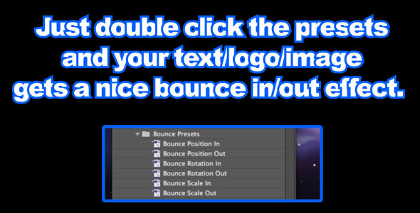 Bounce Presets