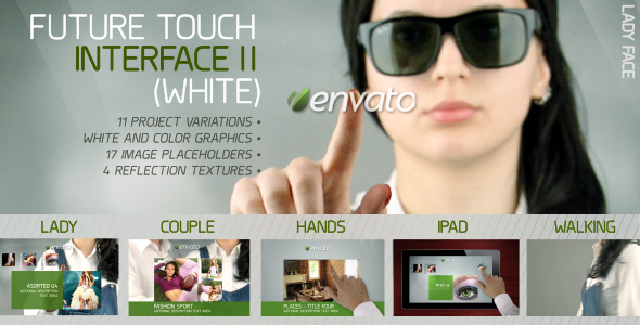 Future Touch Interface II (White)