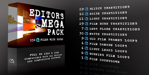 Editors Mega Pack