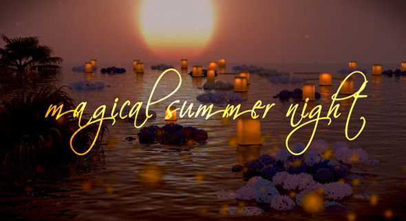 Photo Gallery on a Magical Summer Night