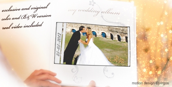 Wedding Album Love Memories